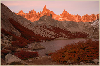 Cerro Catedral Frey mountain hut daily guided hike in Bariloche, Patagonia Argentina