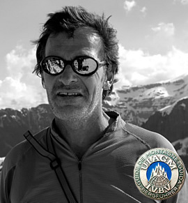 Nicolás de la Cruz - UIAGM certified mountain guide